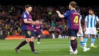 برشلونة يتجاوز ريال سوسيداد ويقترب من حسم الليجا