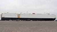 باخرة تفرغ 2434 سيارة بميناء عدن