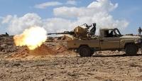 """الجيش يسيطر على مناطق جديدة في مديرية """"الأزارق"""" غرب محافظة الضالع"""