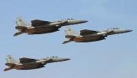 مقاتلات التحالف تستهدف مخزن أسلحة لمليشيا الحوثي غرب الضالع