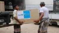 عدن.. وصول نصف مليون جرعة لقاح لوباء الكوليرا بدعم من اليونيسيف