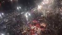"""لأول مرة.. مصريون يتظاهرون ضد """"السيسي"""" في ميدان التحرير"""