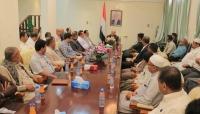 وزير الداخلية: لن نغادر سيئون حتى يتم التغلب على كافة المشاكل الأمنية
