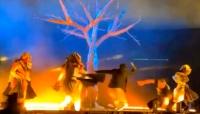 السعودية: طعن ثلاثة في عرض مسرحي بالرياض (فيديو)