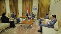 """وزير الخارجية يلتقي الجنرال """"غوها"""" ويحذر من القفز على اتفاق ستوكهولم"""