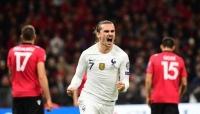فرنسا تختتم رحلة التصفيات بالفوز على ألبانيا وتحسم الصدارة