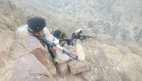 """الجيش الوطني يصد زحفا حوثيا في جبال """"الصوالحة"""" غرب لحج"""