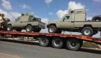 30 آلية عسكرية على متن ناقلات.. قوات سعودية جديدة تصل العاصمة المؤقتة عدن
