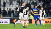 رونالدو يمنح يوفنتوس فوزا صعبا على بارما