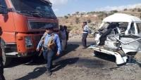 تعز: وفاة وإصابة 151 شخص في حوادث مرورية خلال العام المنصرم