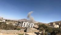 مقاتلات التحالف تستهدف مواقع لميليشيا الحوثي بصنعاء