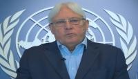 غريفيث يعلن عن لقاءات مع الأطراف اليمنية لبحث وقف إطلاق النار