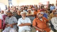 وجهاء سقطرى يطالبون بطرد عناصر الانتقالي القادمين من خارج المحافظة