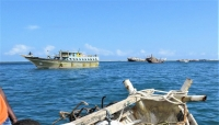 الحكومة: ايران تستخدم سفن الصيد كغطاء لعمليات تهريب الأسلحة للحوثيين