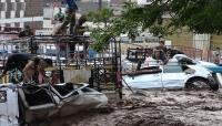 الصليب الأحمر: حياة الكثيرين مهددة جراء كارثة السيول في المحافظات اليمنية