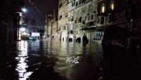 """""""كارثة السيول"""".. 10 وفيات في ريمة وتهدم منازل والمياه تغمر """"صنعاء القديمة"""" وتودي بحياة طفلة (فيديو+صور)"""