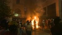 يطالبون برحيل  الرئيس والبرلمان.. لبنان: مواجهات بين محتجين والأمن وسط بيروت