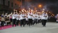 مأرب: الجيش والسلطة المحلية يحييان حفل إيقاد الشعلة احتفاءً بذكرى ثورة 26 سبتمبر
