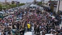 مأرب: الآلاف يستقبلون المختطفين والأسرى المحررين من سجون مليشيات الحوثي