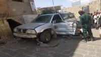 تعز: إصابة ضابط أمن جراء استهدافه بعبوة ناسفة