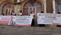 تعز: أمهات المختطفين تطالب مليشيات الحوثي بالإفراج عن 95 مدنياً من أبناء الحيمة