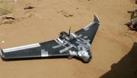 قوات الجيش تُسقط طائرة مسيّرة للحوثيين غرب تعز