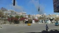 ميليشيا الحوثي تقصف هيئة مستشفى الثورة بتعز