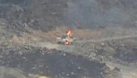 مصرع عشرات الحوثيين بينهم وتدمير آليات في معارك غربي مأرب