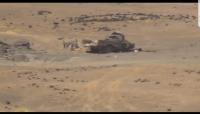 مأرب..تدمير 23 آلية عسكرية للحوثيين وإسقاط طائرتين مسيرتين في جبهة المشجع