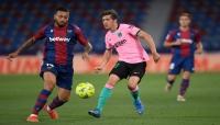 برشلونة يتعثر بالتعادل بعد مباراة عصيبة ضد ليفانتي