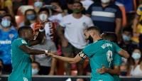 ريال مدريد يقتنص فوزاً مثيراً من فالنسيا في الدقائق الأخيرة وينتزع الصدارة